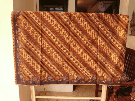 Batik sarong Budapest
