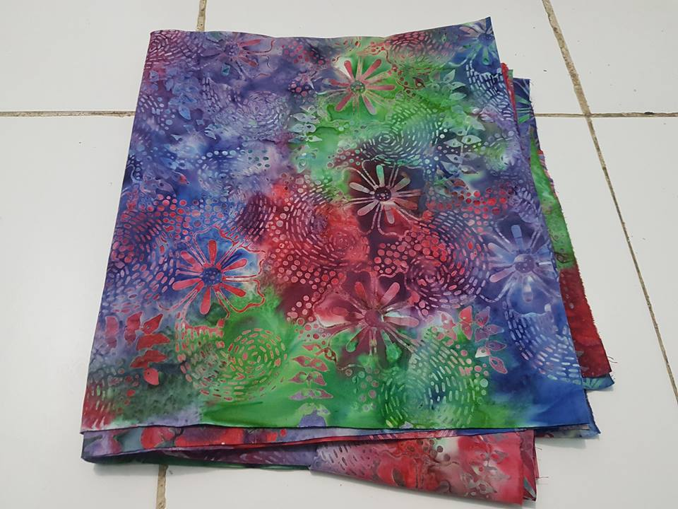 Batik sarong Detroit US