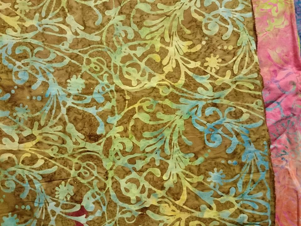 Batik fabric Kinshasa Congo
