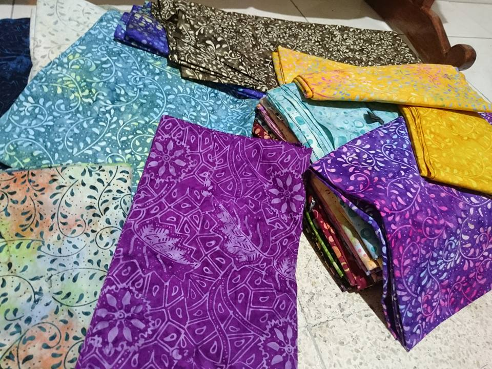 Batik fabric Tehran Iran