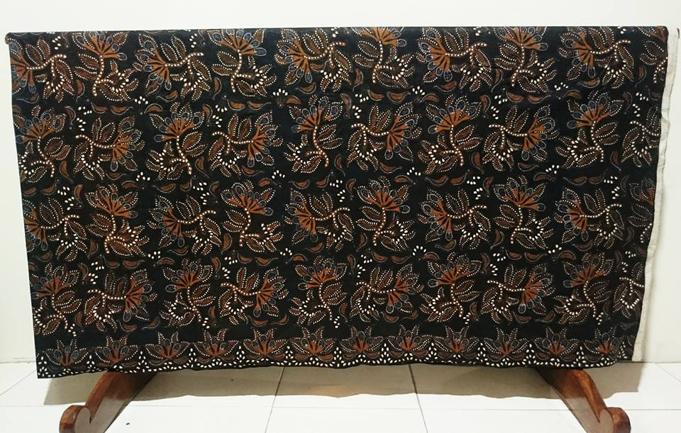 Indonesia batik tulis central java