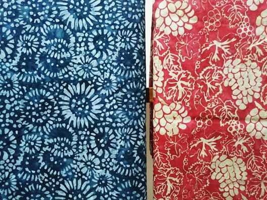 Batik Fabric Extra Wide cotton