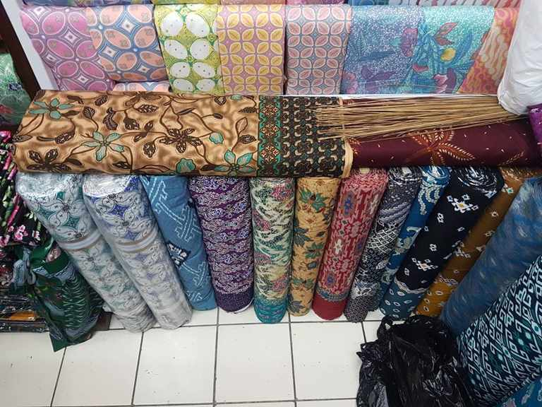 Batik fabric Perth with original handmade