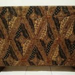 Batik fabric origin using traditional handmade