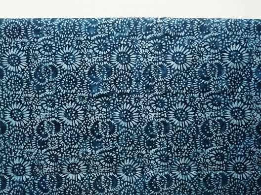 Batik fabric panels
