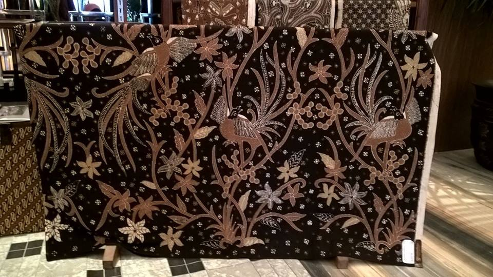 Batik fabric Toronto with full canting
