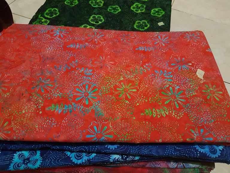 Batik fabric store for smoke or tie dye ( quilt )