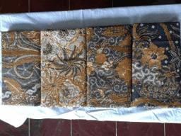 Batik fabric upholstery