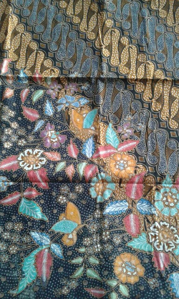 Batik vine fabric