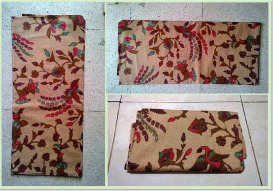Technique of making Batik fabric using screenHandprint