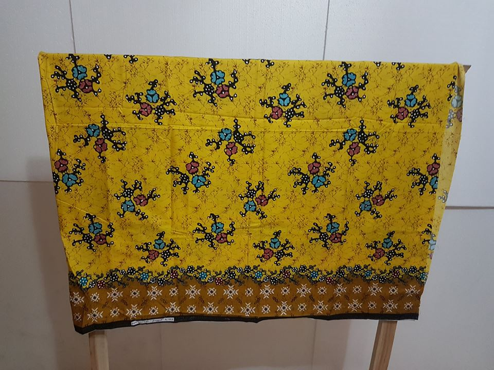 Textile Batik is so identical with kind of modern