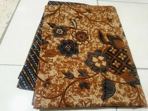 Batik fabric wholesale Bandung Indonesia using handprint method