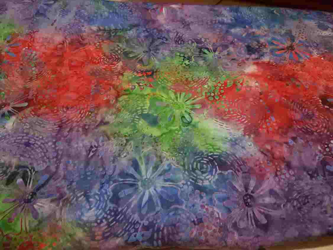Cheap Batik Fabric Canada