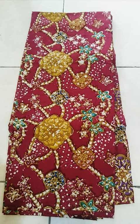 Batik Viscose fabric made from Viscose fabric