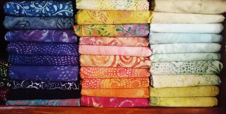 Hawaiian Batik Fabric in Nevada for Wholesale with 100% cotton Original