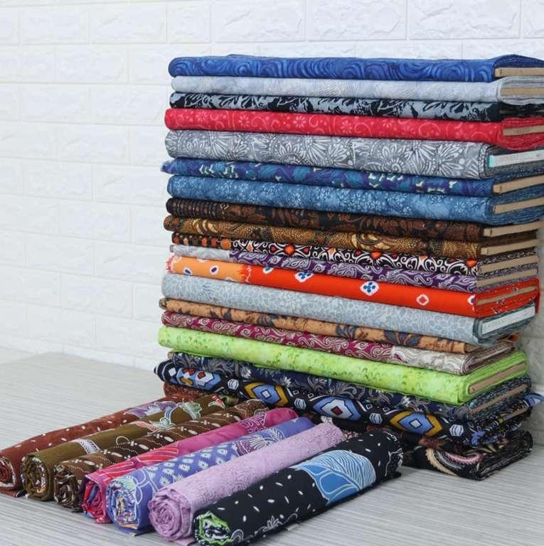 Batik sarong fabric with low price and original handmade