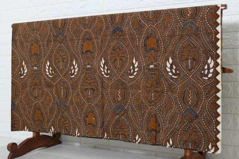 Indonesian batik sarong fabric original handmade