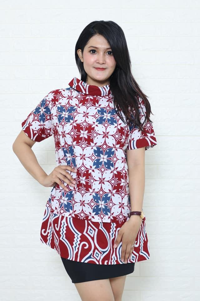 batik tops