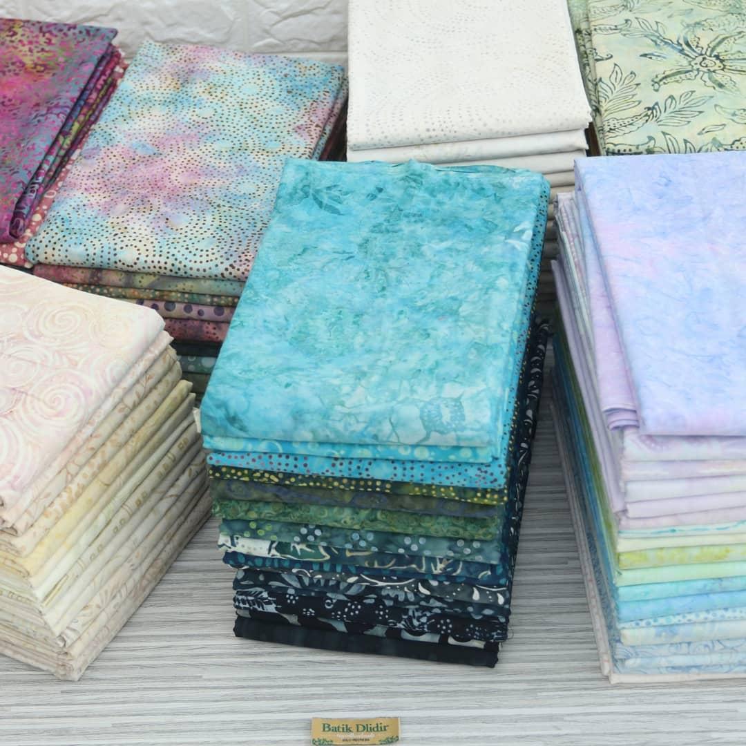 Batik fabric for quilting Indonesia