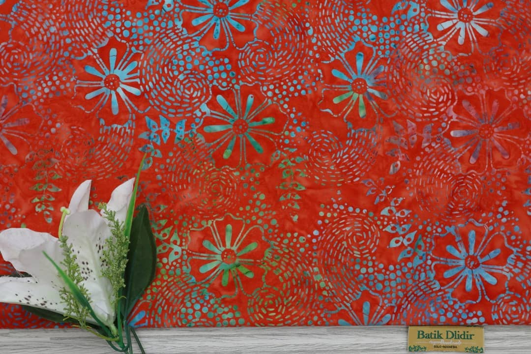 Batik fabric for quilting UK with low price