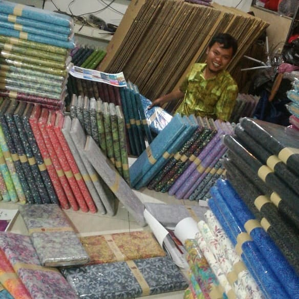 Batik fabric for quilting Gambia the best quality at Batikdlidir. we