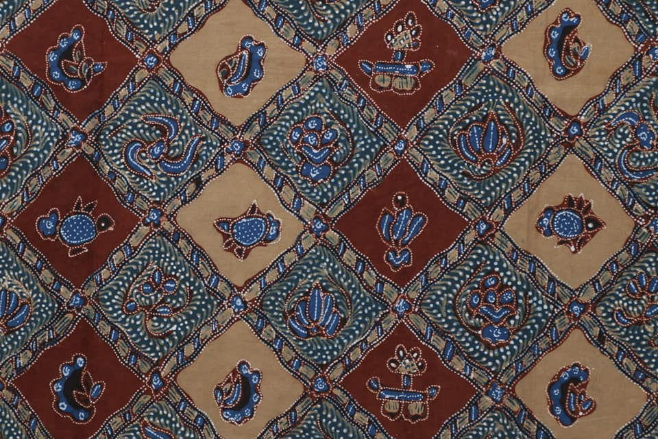 Indigo Batik Fabric