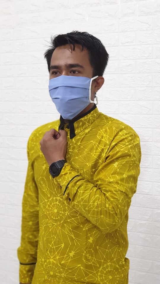 Masker Kain katun Sumatera Selatan harga grosir termurah & kualitas terjamin