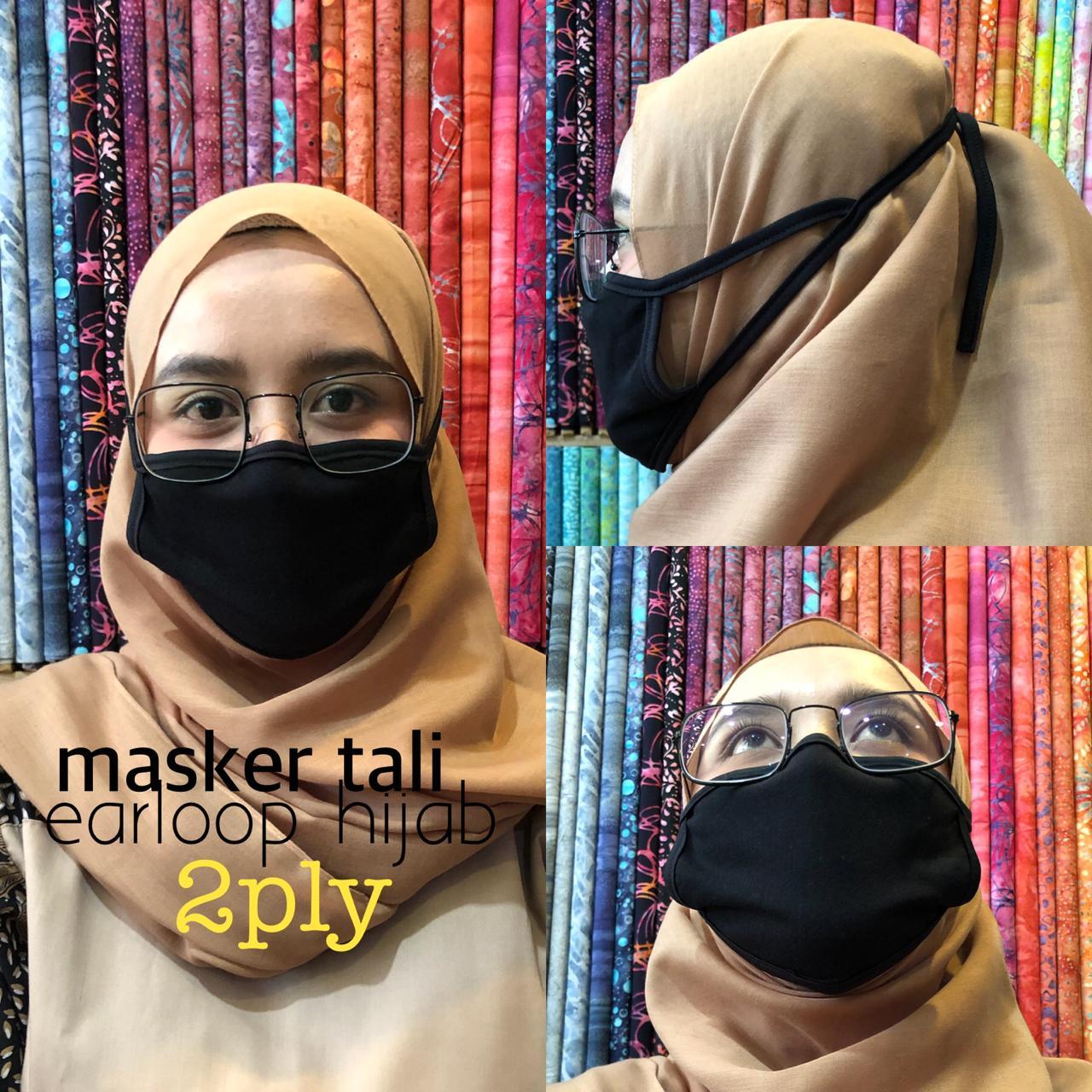 Konveksi Masker kain hijab Makassar Harga Grosir
