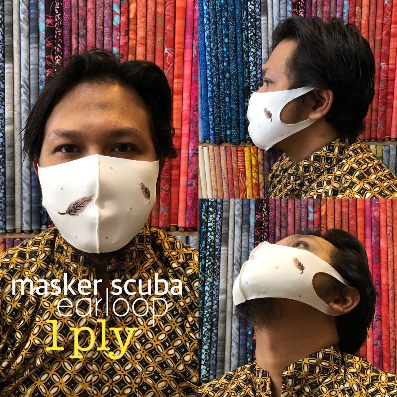 Masker Kain katun Sumatera Barat harga grosir termurah & kualitas terjamin